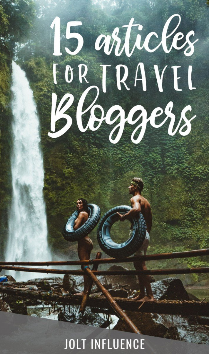 15 Blog Post Ideas For Travel Bloggers | Blogging Tips | Jolt Influence | www.joltinfluence.com