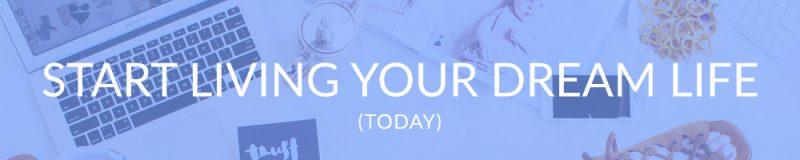 Start Living Your Dream Life   Grow Your Blog   Jolt Influence